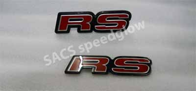 EMBLEM RS HONDA ALL NEW JAZZ GE