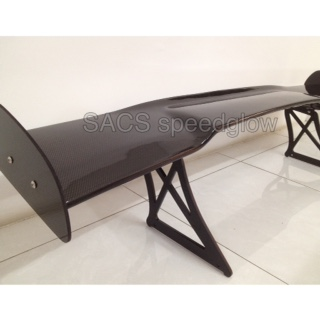 GT WING UNIVERSAL REAL CARBON